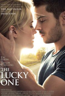 The Lucky One (2012). RATED 6.2.  A Marine travels to Louisiana after serving three tours in Iraq and searches for the unknown woman he believes was his good luck charm during the war.