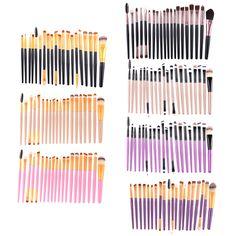 $4.09 (Buy here: https://alitems.com/g/1e8d114494ebda23ff8b16525dc3e8/?i=5&ulp=https%3A%2F%2Fwww.aliexpress.com%2Fitem%2FMutil-Using-Makeup-Brush-Set-20-pcs-set-Mutil-color-Flat-Pro-Foundation-Powder-Highlight-Eyeliner%2F32744587660.html ) Mutil-Using Makeup Brush Set 20 pcs/set Mutil-color Flat Pro Foundation Powder Highlight Eyeliner Eyeshadow Eyebrow Makeup Tools for just $4.09