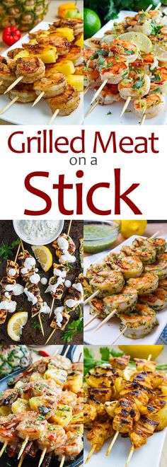 Grilled Meat on a Stick | Closet Cooking | Bloglovin'