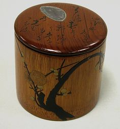Signature: TansaiInscription: In a spring night when the moon shines through a blossoming plum tree growing by the eaves, the moonbeams themselves seem filled with perfume Taro Plant, Tea Japan, Maker Culture, Plum Tree, Edo Period, Modern Traditional, Classic Image, Growing Tree, Asian Art