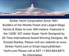 Big Yachts, Super Yachts, Luxury Yachts, Yacht World, Yacht Builders, Private Yacht, Yacht Design, Sport Fishing, Visit Website