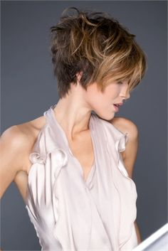 pixie / transition / grow out bangs + short back / choppy a-line / grow out