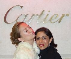 with FABULOUS Ayumi Hamasake at the CARTIER Party Rodeo Drive