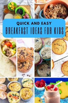 Inside: Find breakfast ideas for kids here. Perfect for easy breakfasts for school mornings. Healthy, easy and delicious! Over the years we have had many different start times for school. Our current out the door Savory Breakfast, Health Breakfast, Easy Healthy Breakfast, Breakfast For Kids, Breakfast Ideas, Tortellini, Orzo, Healthy Recipe Videos, Easy Healthy Recipes