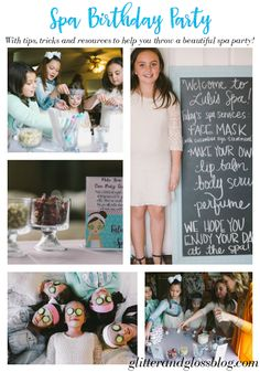My (baby) big girl's ninth birthday has come and gone, and it was wonderful. Leila is very much her mother's daughter, and has had a spa-t. Kids Spa Party, Spa Birthday Parties, Pamper Party, Sleepover Party, Birthday Ideas, Bachelorette Parties, Makeover Party, Paris Birthday, 9th Birthday