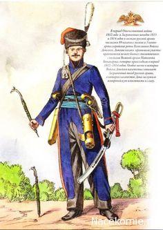 Guerres Napoléoniennes №65 sociétés d'artillerie Gunner Don, 1812-1816 gg.