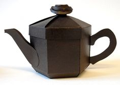 Teapot Treats Gift Box - Classic Brown