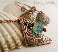 Boo's Jewellery: Bringing copper clay to life