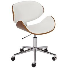 office chair white leather. Odyssey 44\ Office Chair White Leather