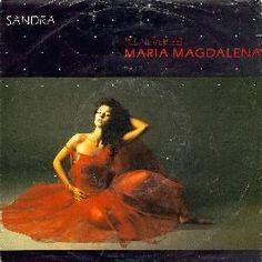 """Sandra - (I'll Never Be) Maria Magdalena (Vinyl 7"""") 1985 Portugal"""