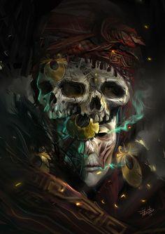 DEIDAD DEL SUBMUNDO PARACAS | Arte Manifiesto