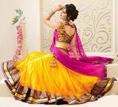 Reasons why should you wear Lehenga Sarees in Occasions...  #Lehenga, #lehengasaree