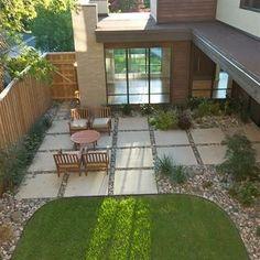 Using Large Concrete or StonePatio Pavers :: Gardens : Gardening : Patio : Outdoor Living