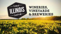 Travel Central Illinois Wineries, vineyards & breweries