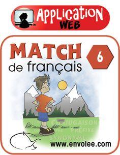 Grâce à ces applications, l'élève réfléchit à des questions liées à diverses notions de français. L'élève est amené à mettre à profit ses nouvelles connaissances à l'aide de 20 questions variées et amusantes dans chaque match.