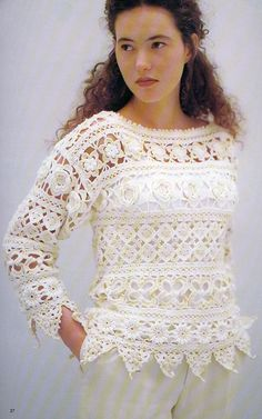 crochet motifs, collect the product ..
