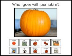 What Goes With A Pumpkin?