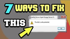 7 Ways to Remove Write Protection from Pen Drive or SD Card 2018 | Tech Zaada