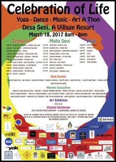 Celebration of Life | Bali Yoga | Bali Dance | Bali Music | YogaThon | Desa Seni