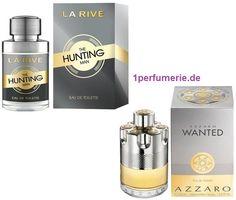 La Rive The Hunting Man, Eau de Toilette - Parfum La Rive, Azzaro Wanted, Tonka Bohne, Hunting, Perfume Bottles, Dm, Beauty, Germany, Places