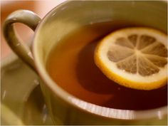Lemon Honey Cayenne Tea--good for sickness and metabolism