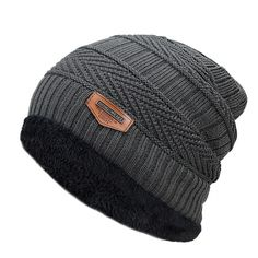 New Mens winter Fall hat fashion knitted black ski hats Thick warm hat cap Bonnet Skullies Beanie Soft Knitted Beanies Cotton (Discount: 5 % ) Winter Cap For Man, Mens Winter Hats, Fall Hats, Hat For Man, Ski Hats, Knit Fashion, Men Fashion, Fashion Hats, Fashion Edgy