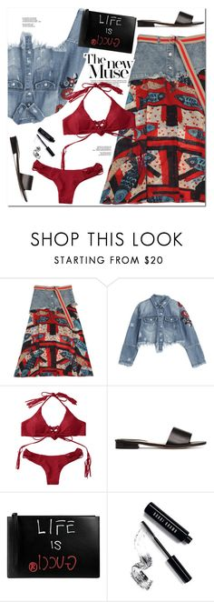 """""""The New Muse"""" by oshint ❤ liked on Polyvore featuring Gucci and Bobbi Brown Cosmetics"""