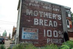 Mothers bread ghost ad