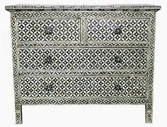 Surrealz Mother of Pearl Drawer Sideboard