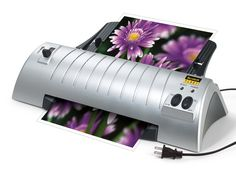 The BEST laminator! Only $16.99 today (normally $80). Scotch Thermal Laminator 2 Roller System (TL901) [aff link]