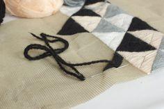geometric pattern embroidery