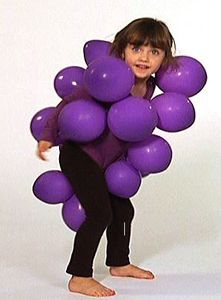 cute for kids costumes... grapes