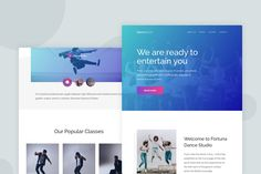 Dance Studio - Email Newsletter by Ra-Themes on Envato Elements Email Templates, Newsletter Templates, Ra Themes, Email Newsletters, Dance Studio, Entertaining, Funny