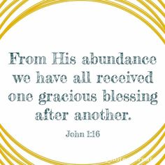 When you seek the Blesser the blessing(s) will follow. #residualblessings #iamsecond #makeroom