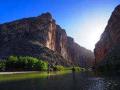 Santa Elena Canyon - photo donated by Pam LeBlanc/Austin American Statesmand