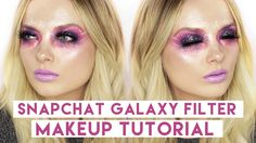 SNAPCHAT Galaxy Filter Makeup Tutorial! // MyPaleSkin