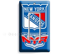 New York Rangers NYR NHL NY hockey champions team by DecorLounge