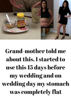 Grand-mother told me about this. I started to use this 15 days before my wedding and on wedding day my stomach was completely flat  In this post I am going to share recipe of one very powerful energy drink that can remove all unwanted fat from your stomach area in just 2 weeks. In this drink we are going to add turmeric powder that will ........