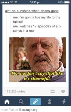 Seriously, I consider watching 17 episodes of Doctor Who an accomplishment to be proud of!