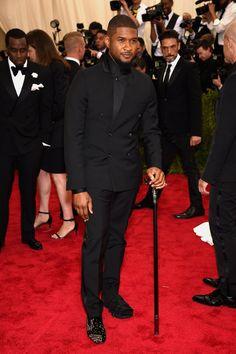 Pin for Later: Pour Voir Toutes les Photos du Met Gala, C'est Par Ici! Usher