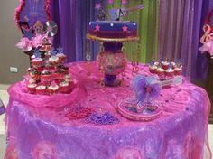 decoracion de fiesta Hanna Montana decoration party