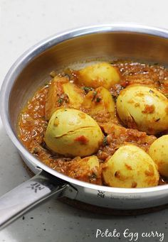 potato egg curry – a simple, easy recipe for beginners. It can be accompanied with any flavored rice, plain rice, roti or chapathi. To get the best taste, I prefer to slow cook this aloo egg curry. You can make this a dry curry or with more gravy as well to suit your taste. Since …