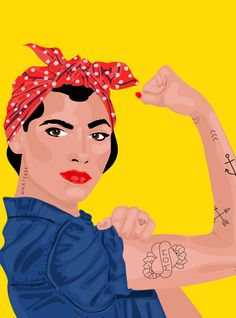 "30+ Rosie The Riveter Costumes That Scream ""We Can Do It!"" http://r29.co/2k8f69V"