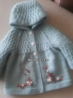 kapusondan-baslamali-robali-18-aylik-hirka Baby Knitting Patterns, Baby Hats Knitting, Knitting Blogs, Sewing Patterns For Kids, Knitted Hats, Free Knitting, Baby Cardigan, Baby Pullover, Baby Vest