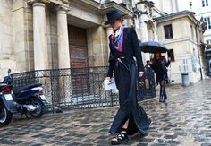 Best Street Style from 2014 Vanessa Metz in Céline shoes