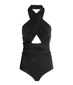Halterneck bodysuit | Party in H&M