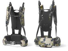 Build a frame like the Kuiu Ultra Frame instead of a myog backpack, use for different bags? Backpack Hacks, Survival Backpack, Diy Backpack, Backpack Straps, Rucksack Backpack, Hiking Backpack, External Frame Backpack, Walking Gear, Hunting Packs