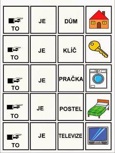 Pro Štípu: Skladame jednoduche vety Speech Therapy, Sentences, Language, Album, Education, Logos, Jin, Pictures, Aurora
