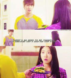 "Cute Lee Min Ho and Park Shin Hye ♡ #Kdrama - ""HEIRS"" / ""THE INHERITORS"""