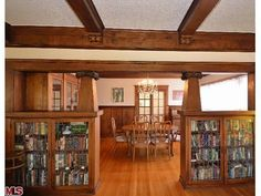1915 Craftsman in Los Angeles; amazing built-ins and wood paneling